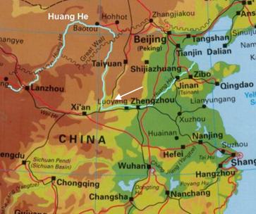 Konflikte um Wasser - China / Der Huang He und sein Staudamm