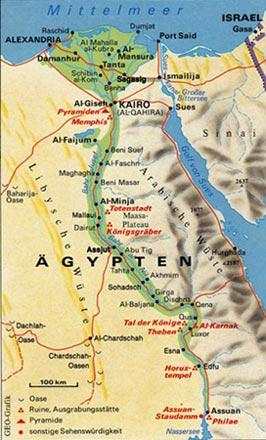 Karte ägypten Nil.Konflikte Um Wasser Nil Der Nil